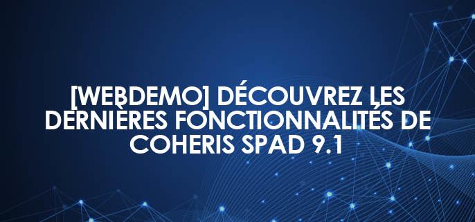 [Webdemo] Découvrez les dernières fonctionnalités de Coheris SPAD 9.1